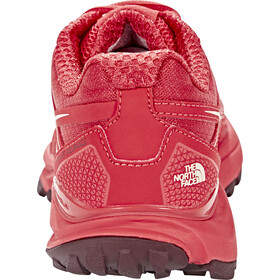 The North Face Litewave Endurance Running Trail Shoes Damen cayenne red/tropical peach